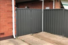 Colorbond Double Gates